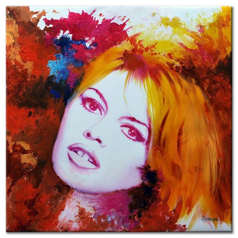 Schilderij Brigitte Bardot