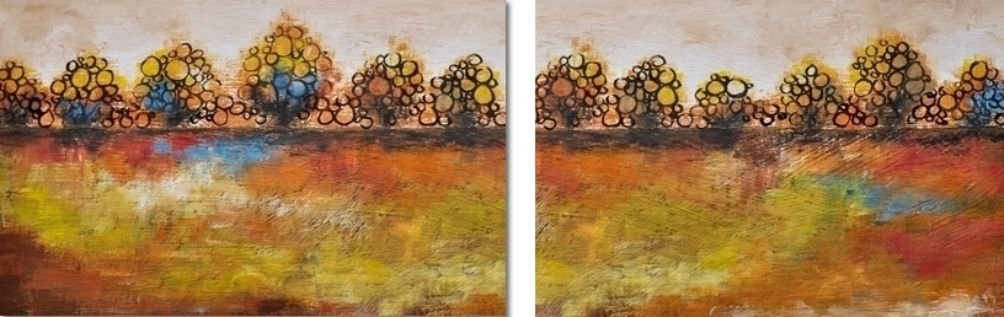 Abstract Trees Tweeluik