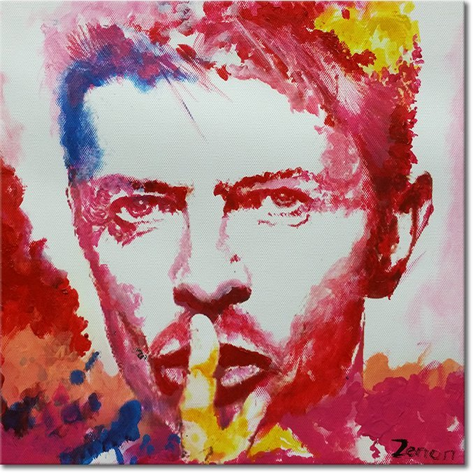Schilderij David Bowie Pop Art
