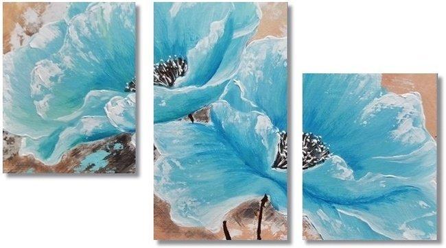Turquoise Poppies 3