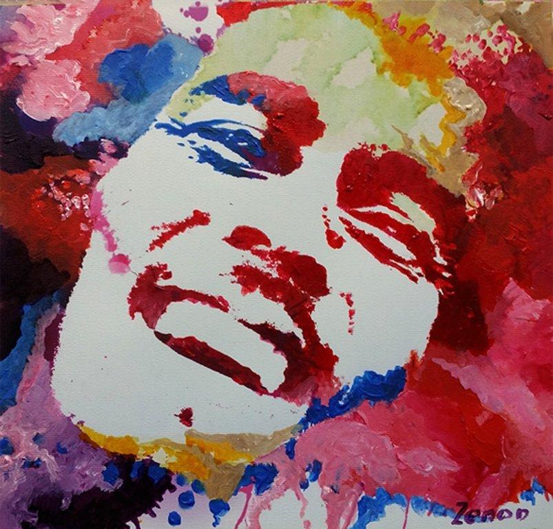 Schilderij Bob Marley Pop Art