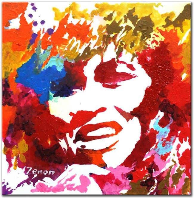 Schilderij Tina Turner