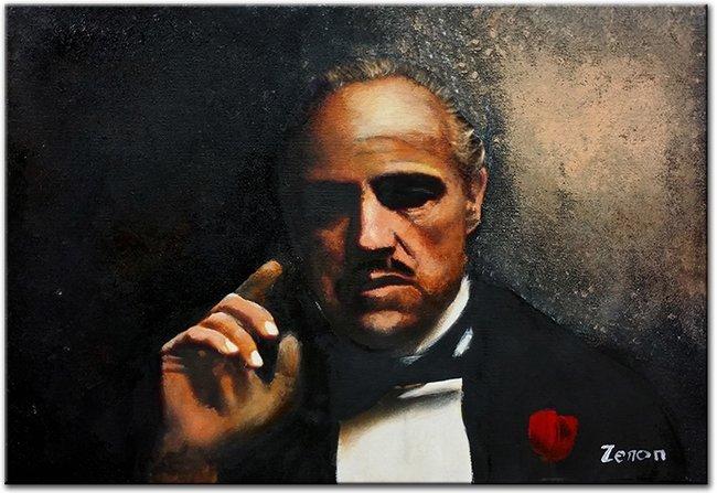 Schilderij Marlon Brando