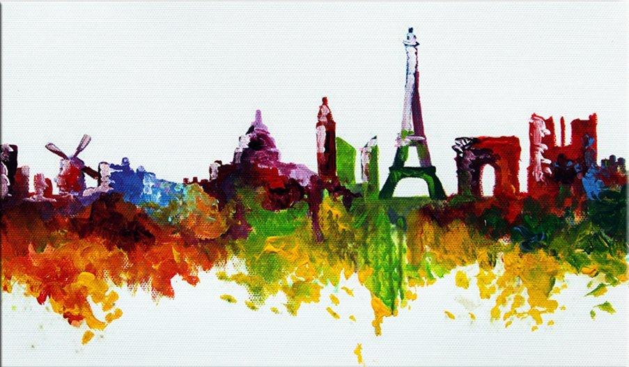 Parijs Skyline