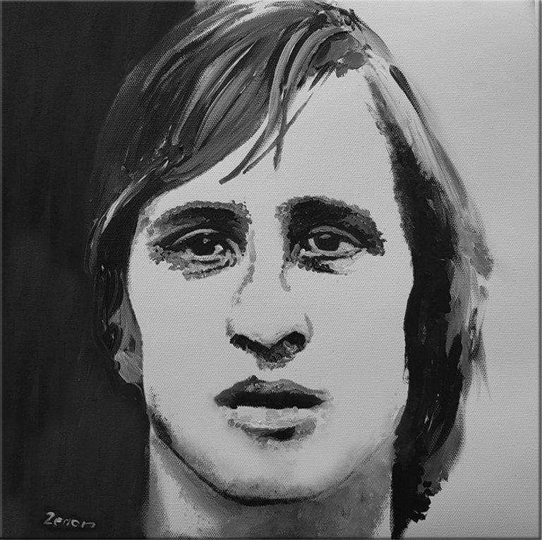 Schilderij Johan Cruyff