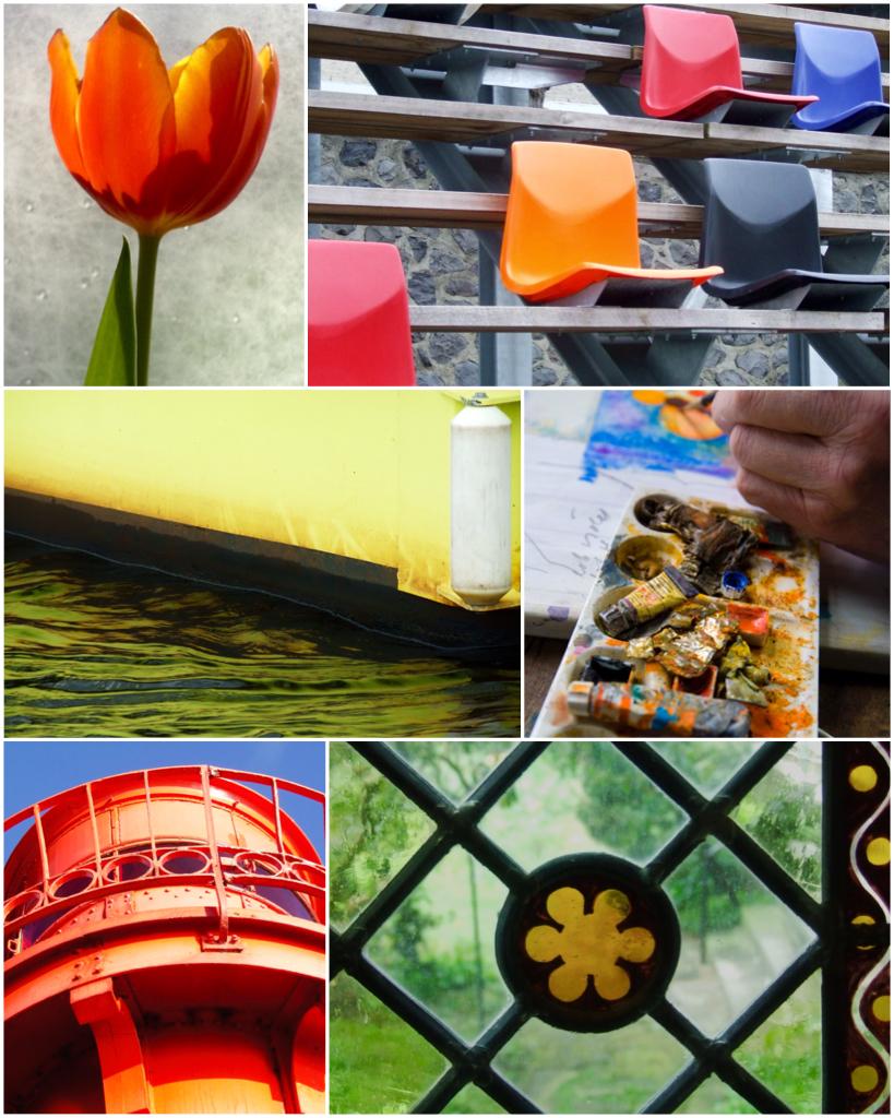 collage kleur