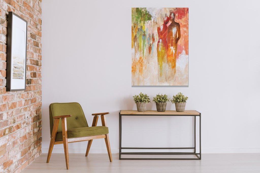 schilderij One in a Million 2 van Aleksandra