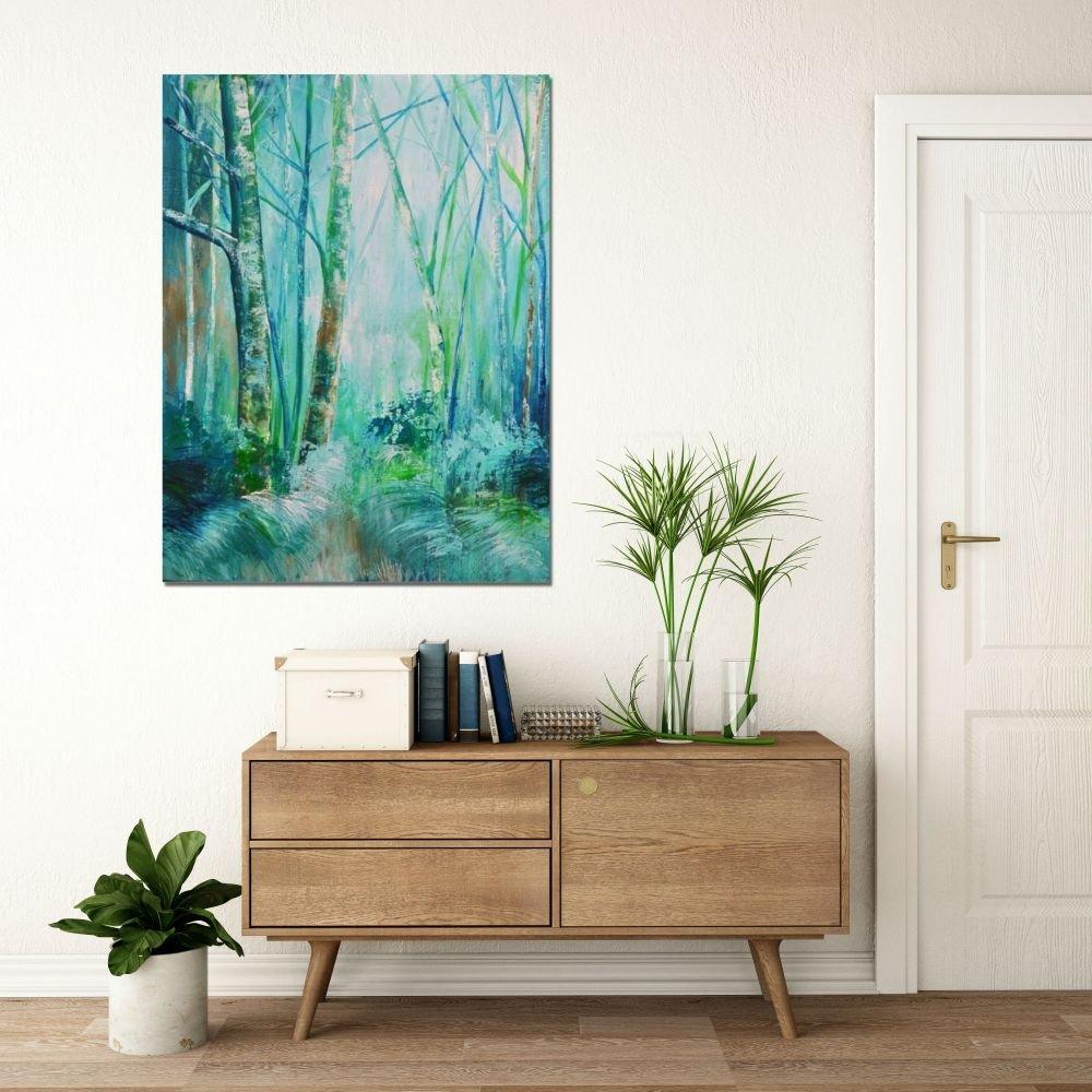 interieurfoto Forest Blues van Aleksandra