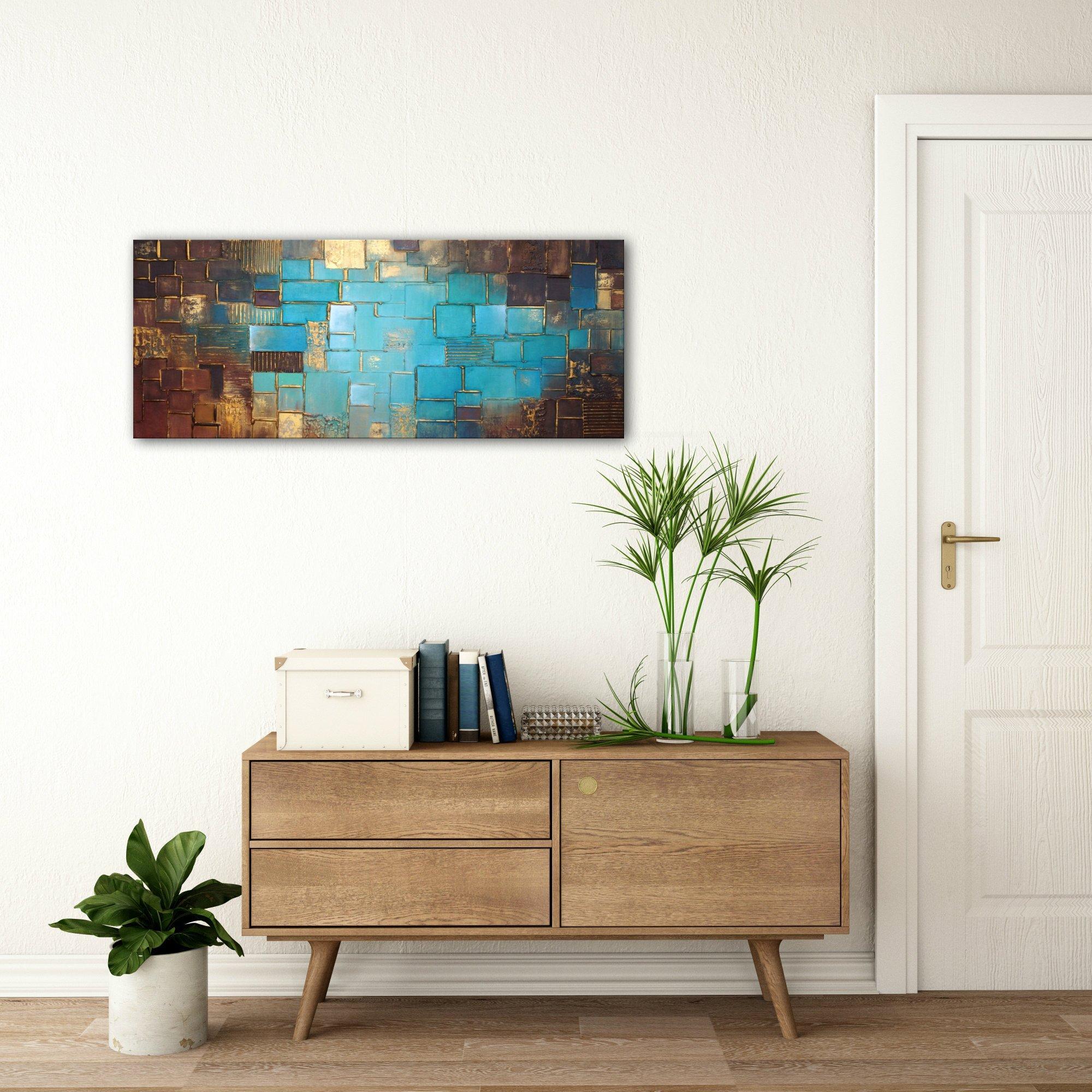 schilderij Atlantis Gold van Buttner
