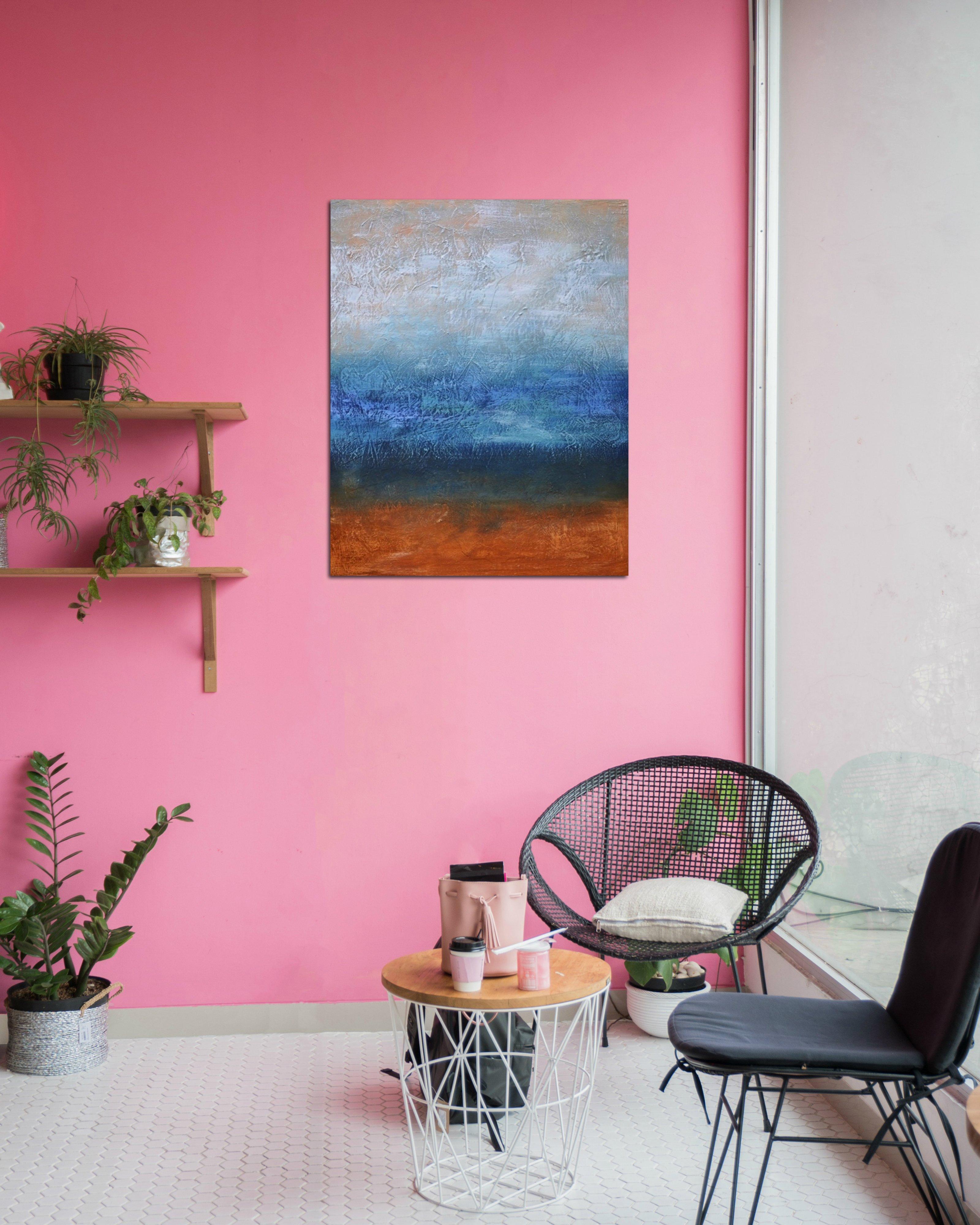 schilderij Dark Skies van Aleksandra