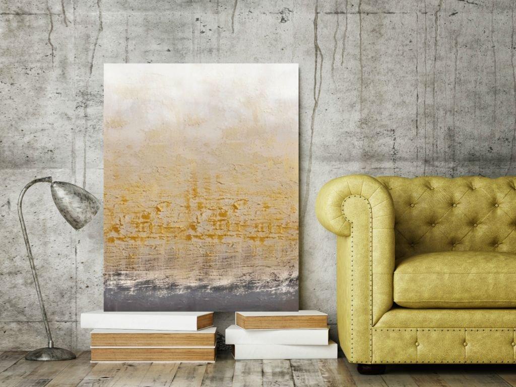 Schilderij Golden Bay van Aleksandra