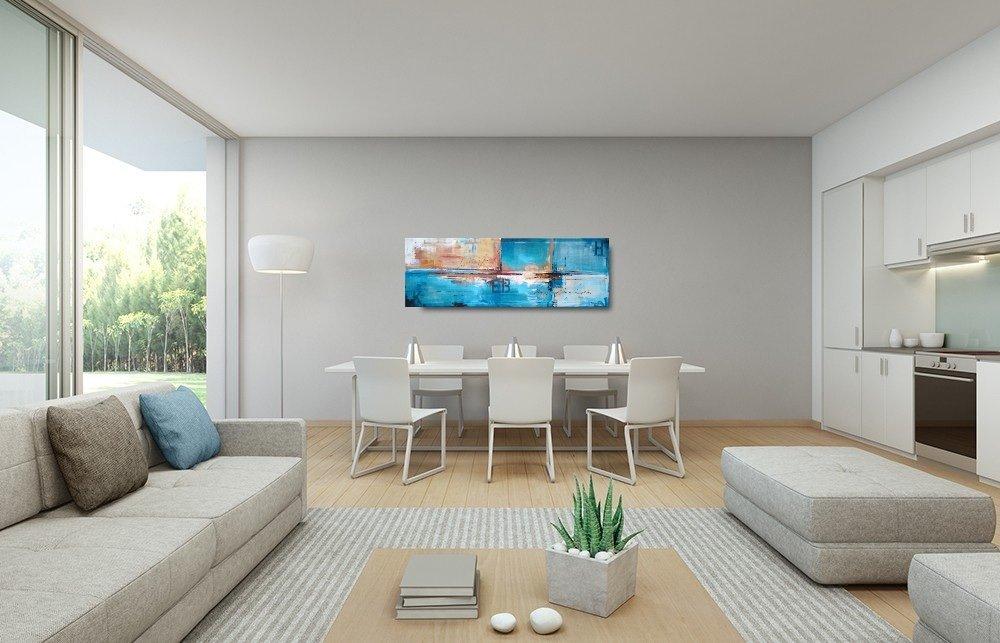 interieurfoto schilderij World Traveller van Buttner