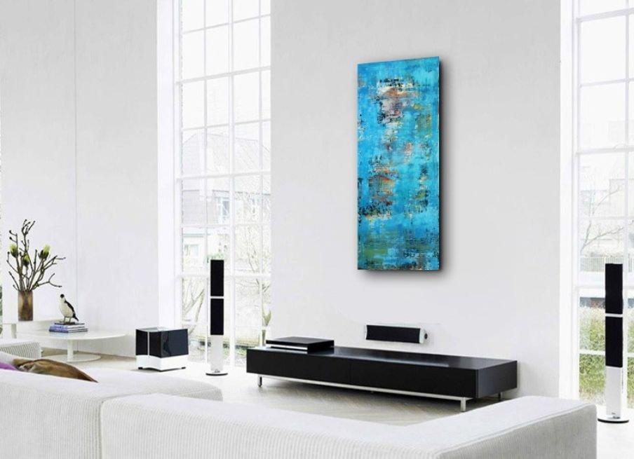 interieurfoto schilderij Spring Breeze van Ines
