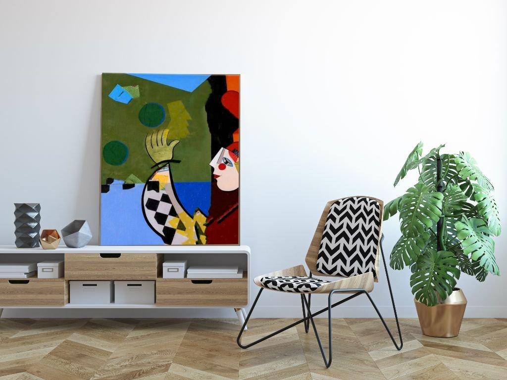Schilderij Motley van Irina