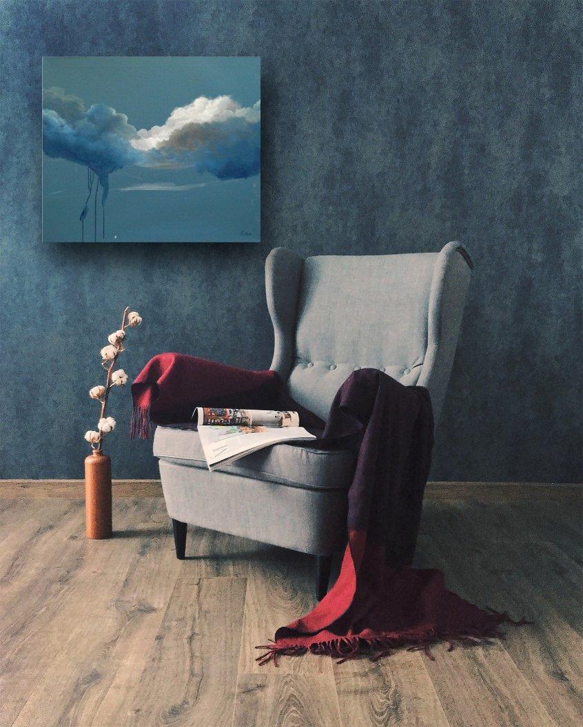 interieurfoto schilderij November van Buttner