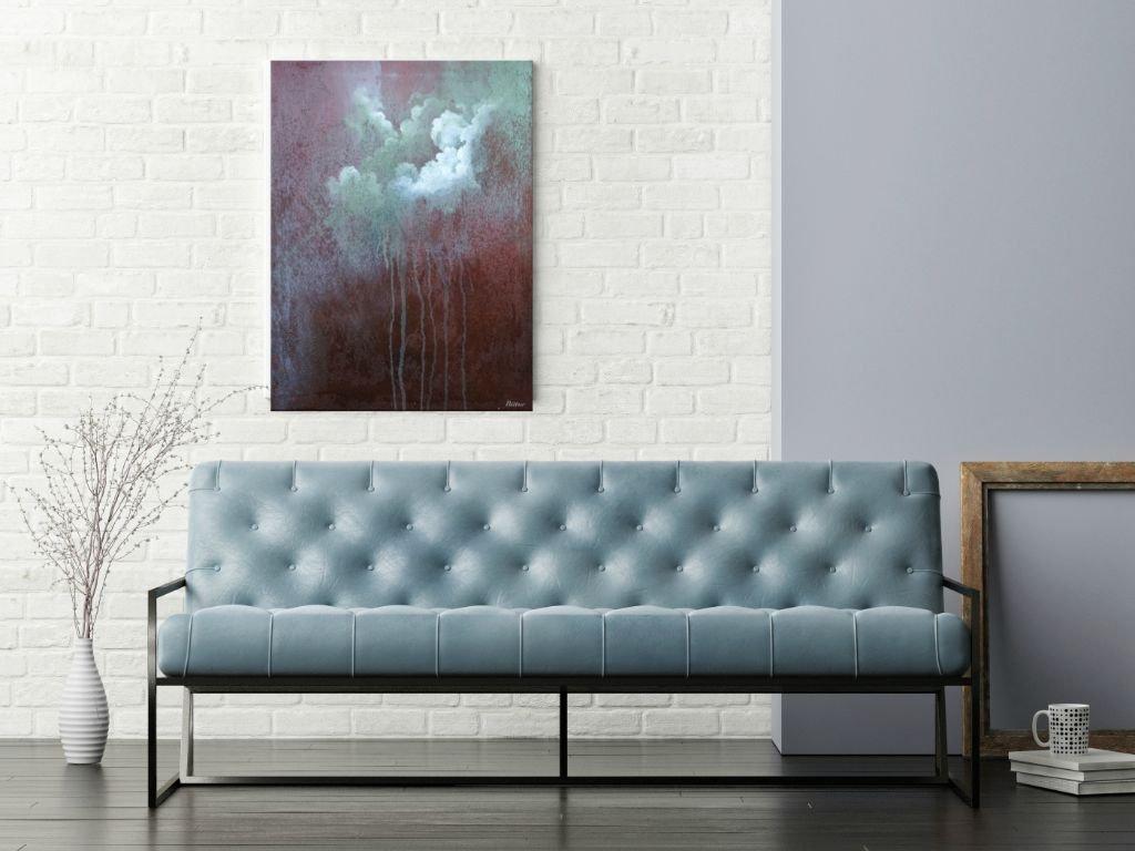 schilderij Purple Rain van Buttner