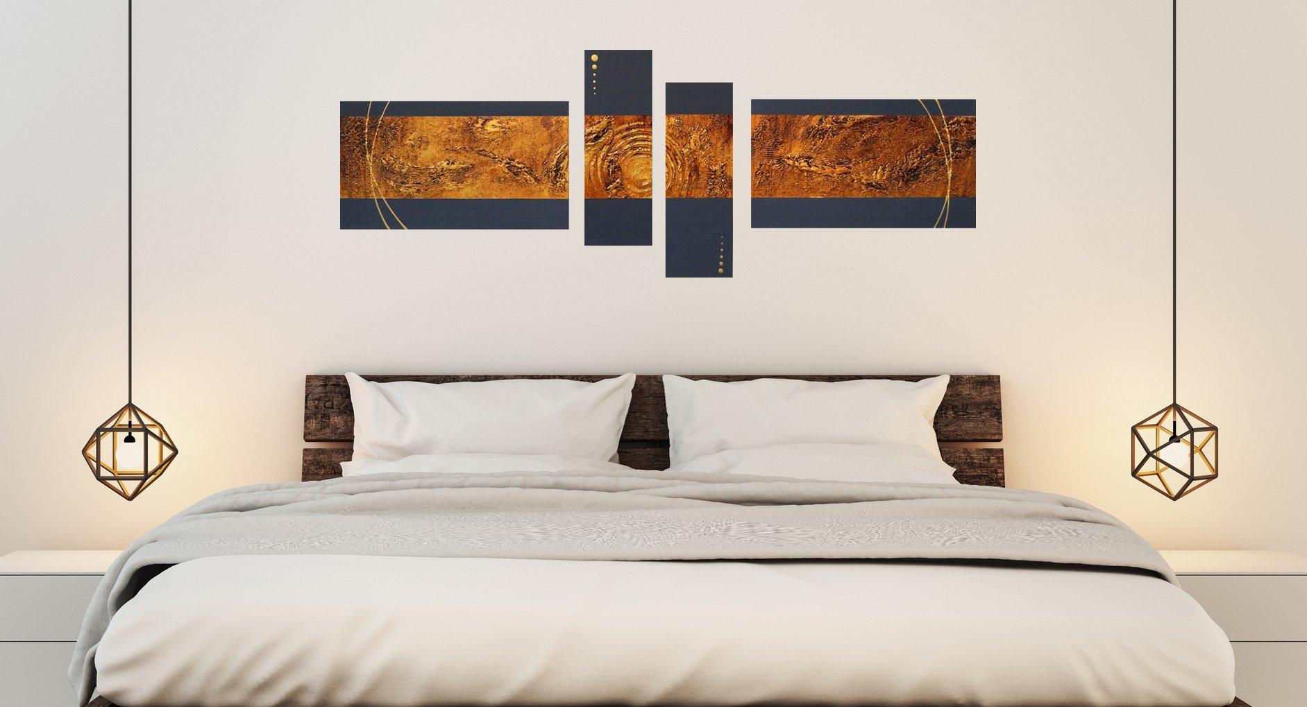 schilderij Liquid Gold van Buttner