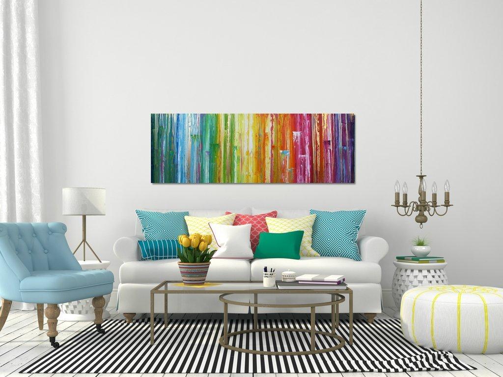schilderij Beyond the Rainbow van Ines