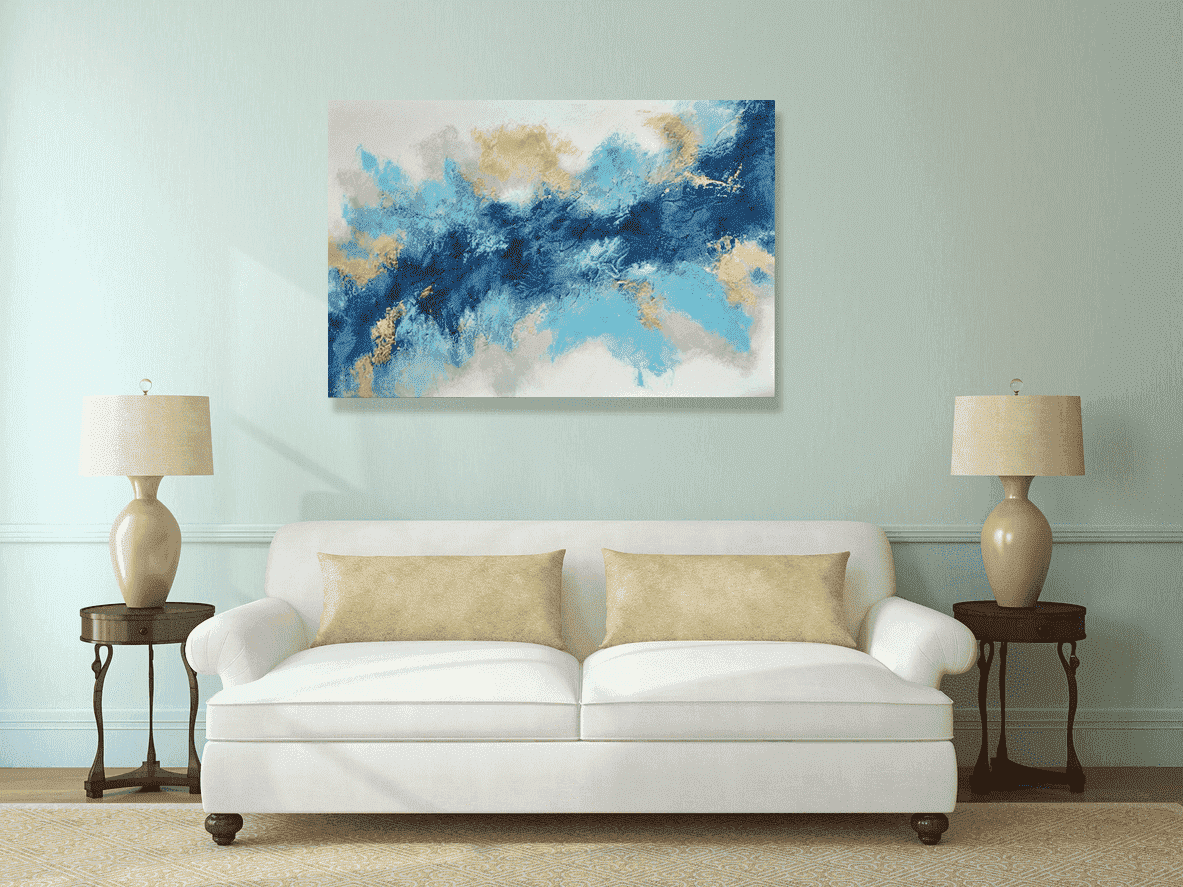 schilderij Aurora 4 van Aleksandra