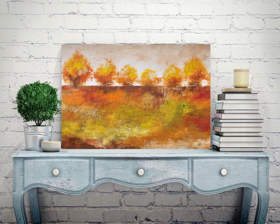 schilderij Autumn Impression 1 van Aleksandra
