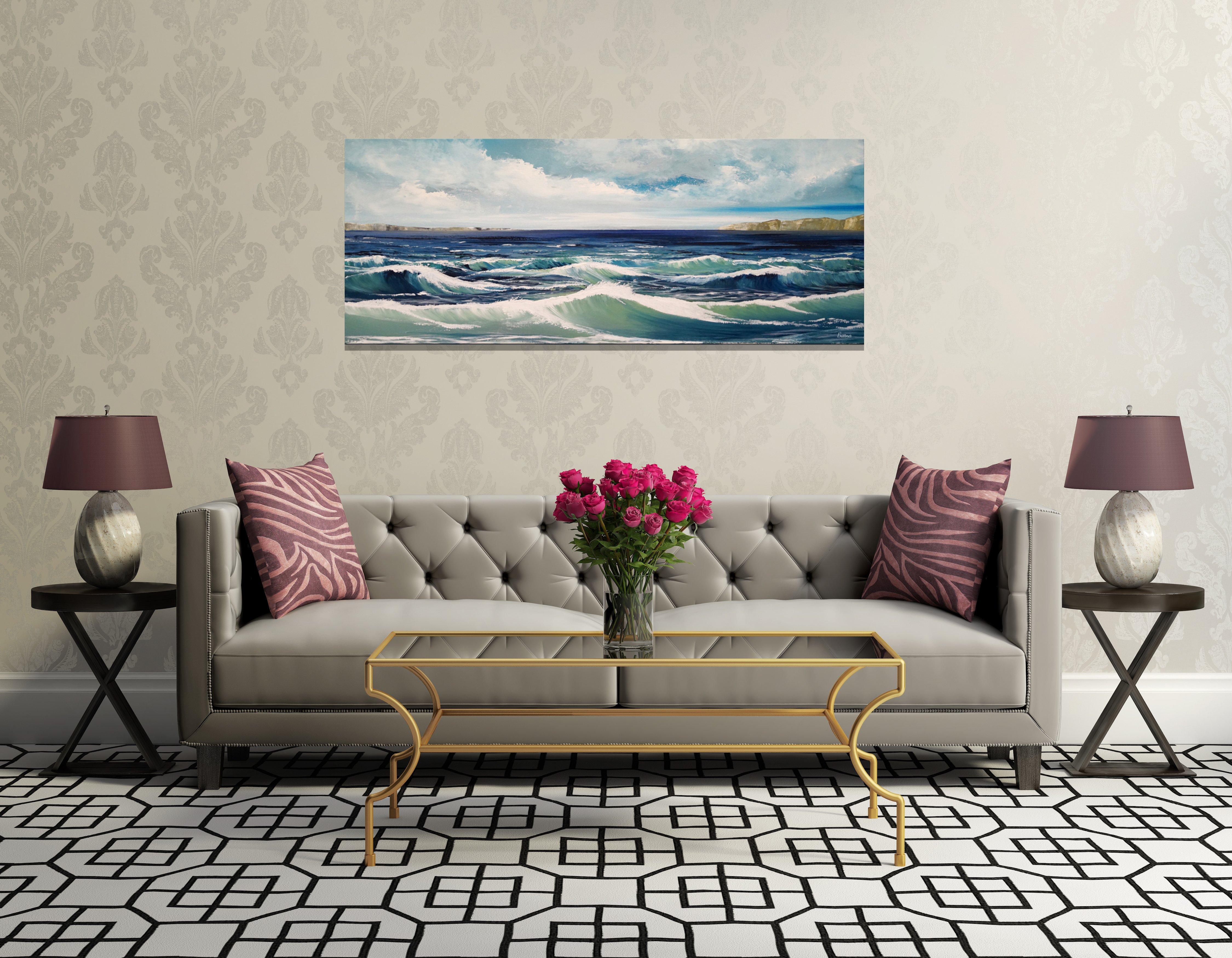 schilderij Oceanfront van Buttner