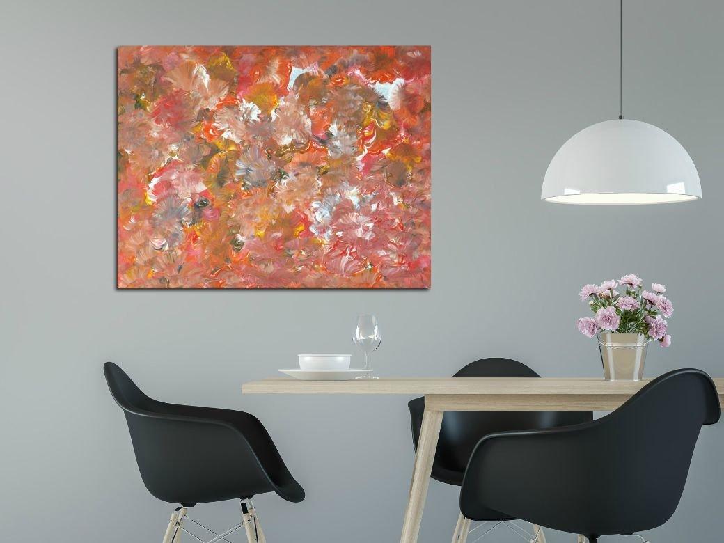 interieurfoto schilderij Count the Flowers van James