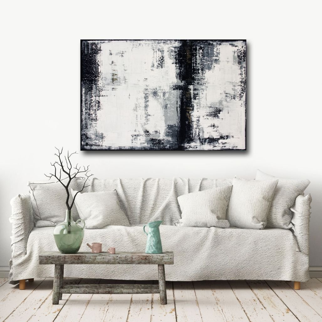 schilderij Gold Vein van Ines
