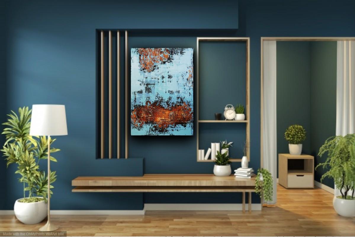 interieurfoto schilderij Venezia van Ines