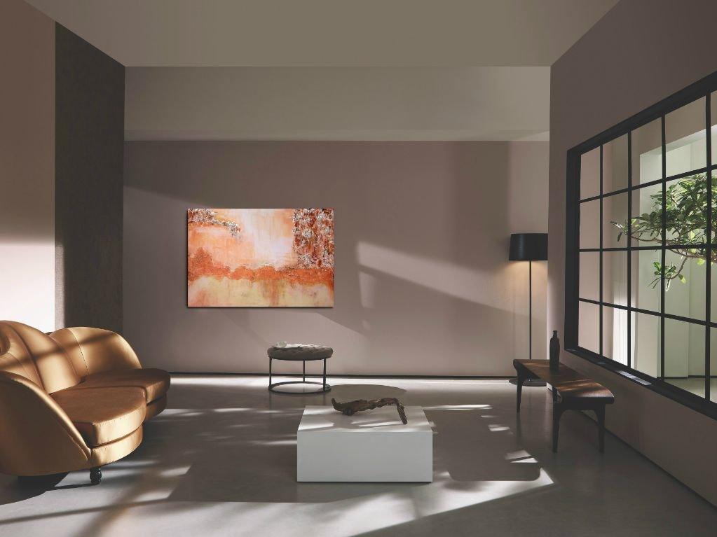 interieurfoto schilderij Evening View van Sacha