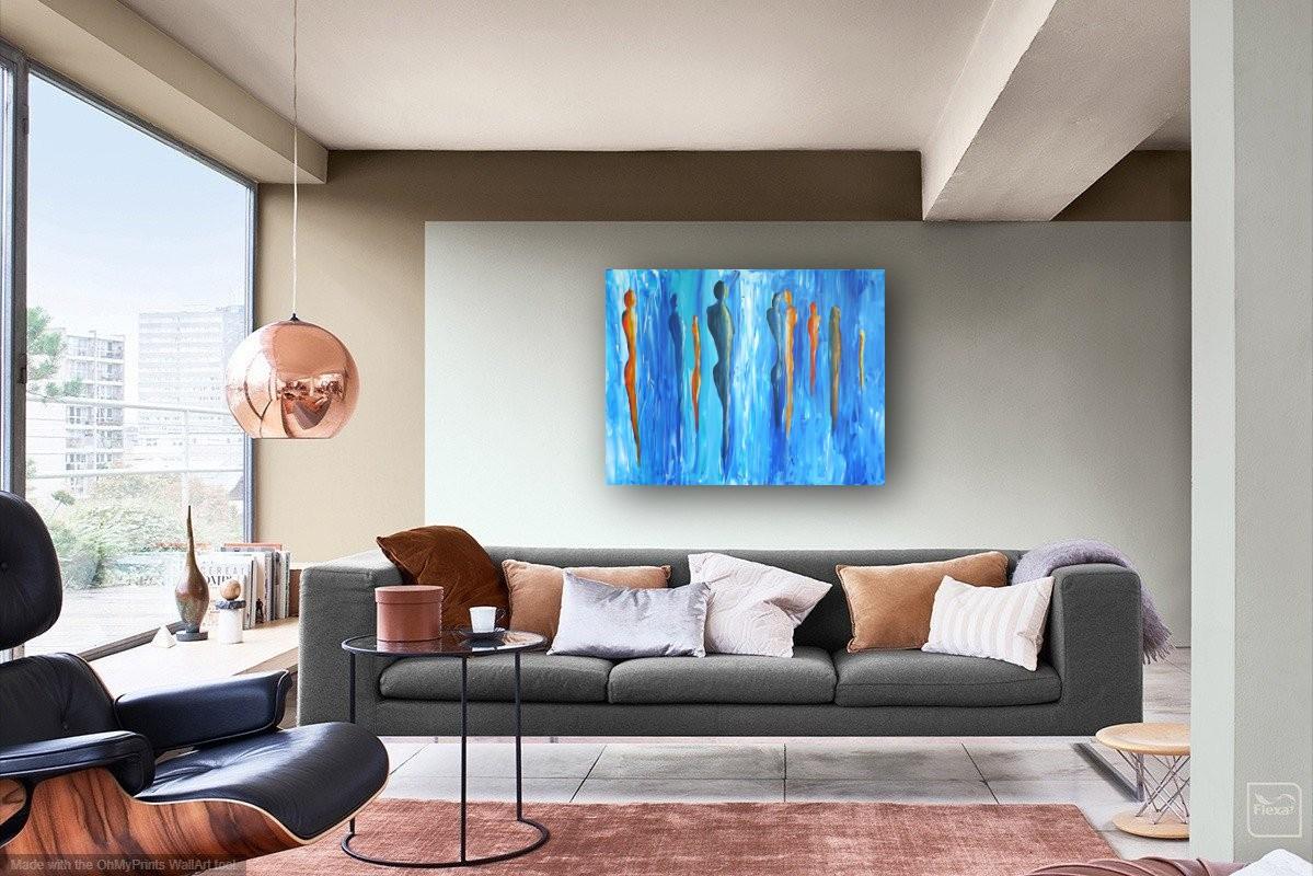interieurfoto schilderij Sky Impressions van James