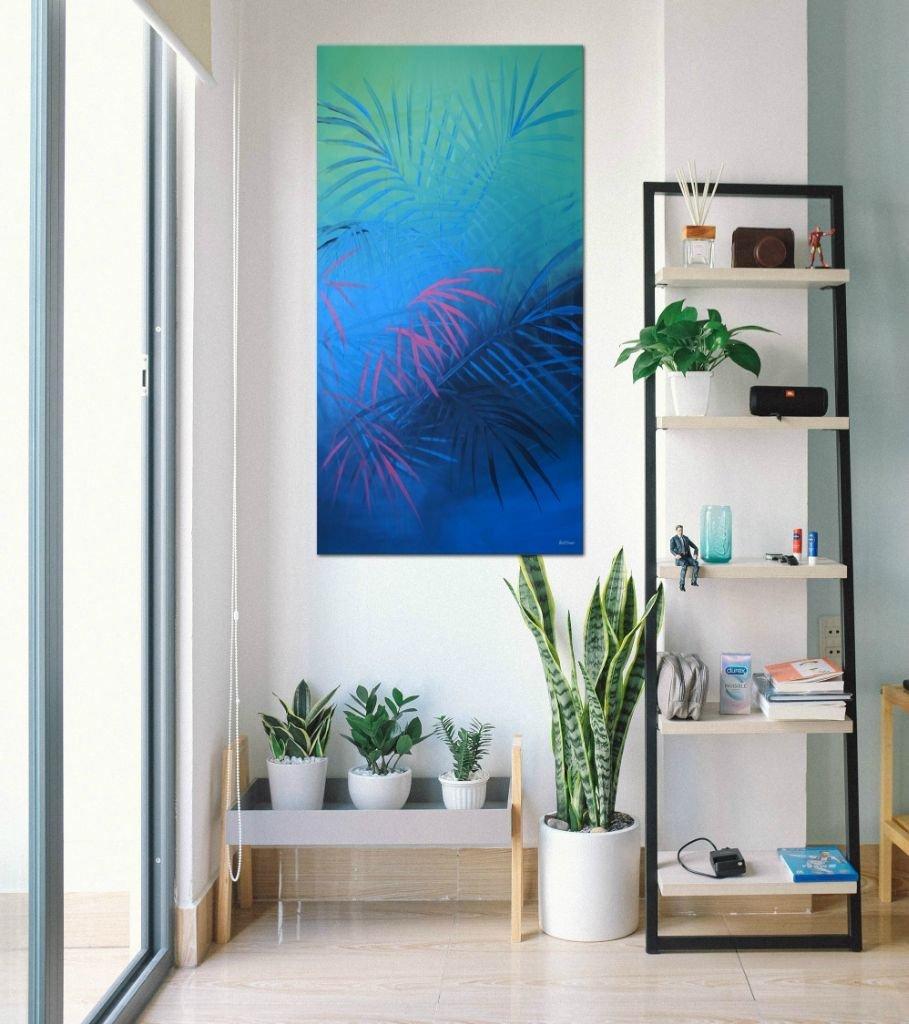 interieurfoto schilderij Jungle Cut van Buttner