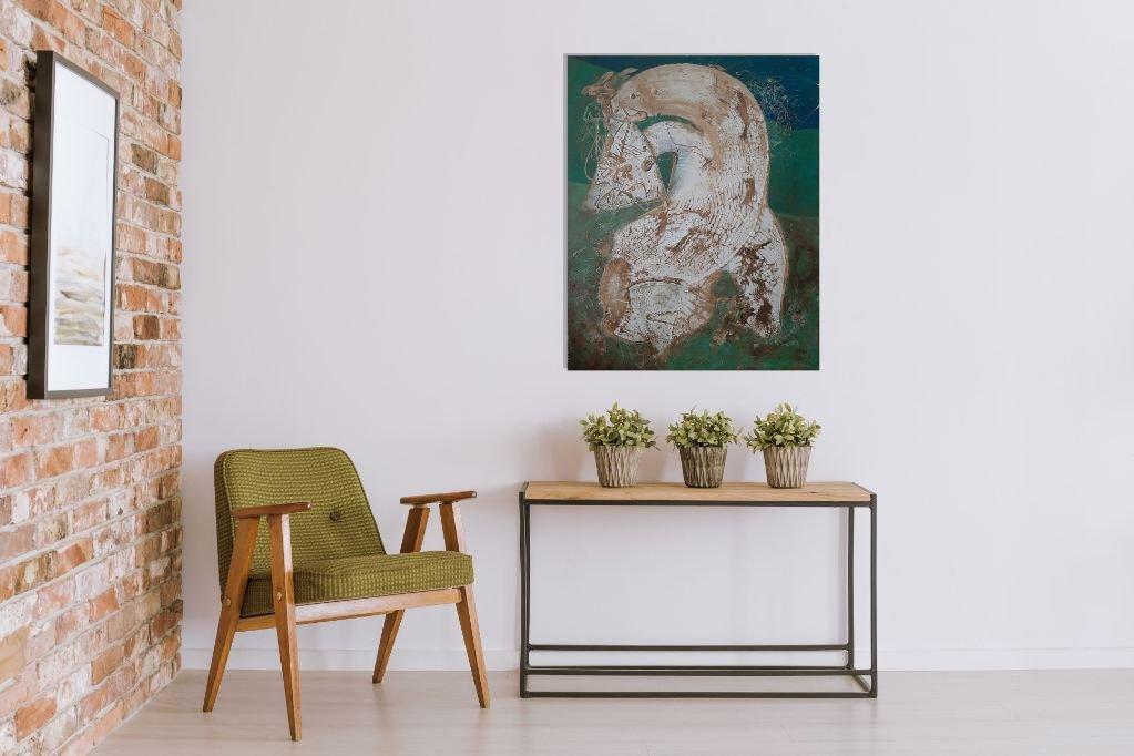 interieurfoto schilderij Picasso van Sacha