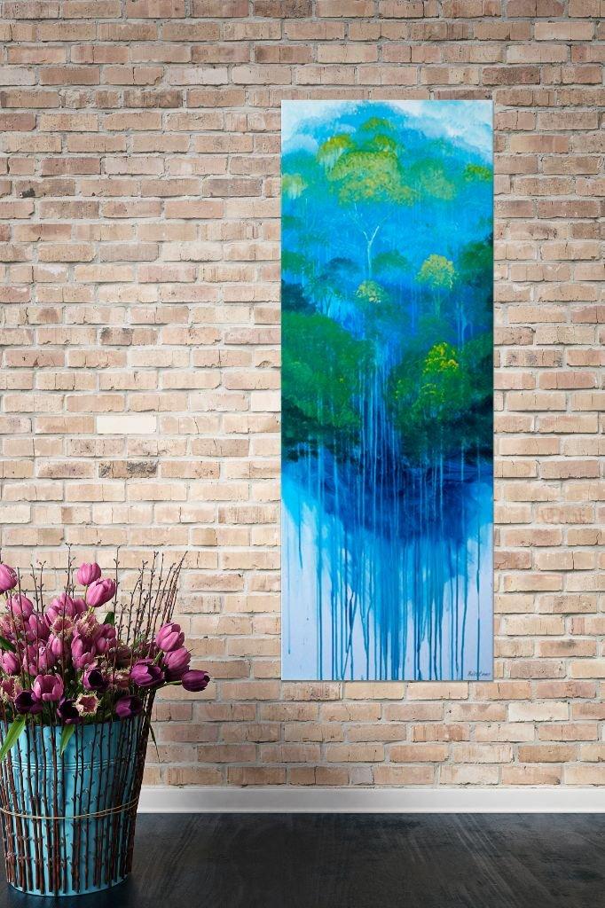 schilderij Rainforest van Buttmer