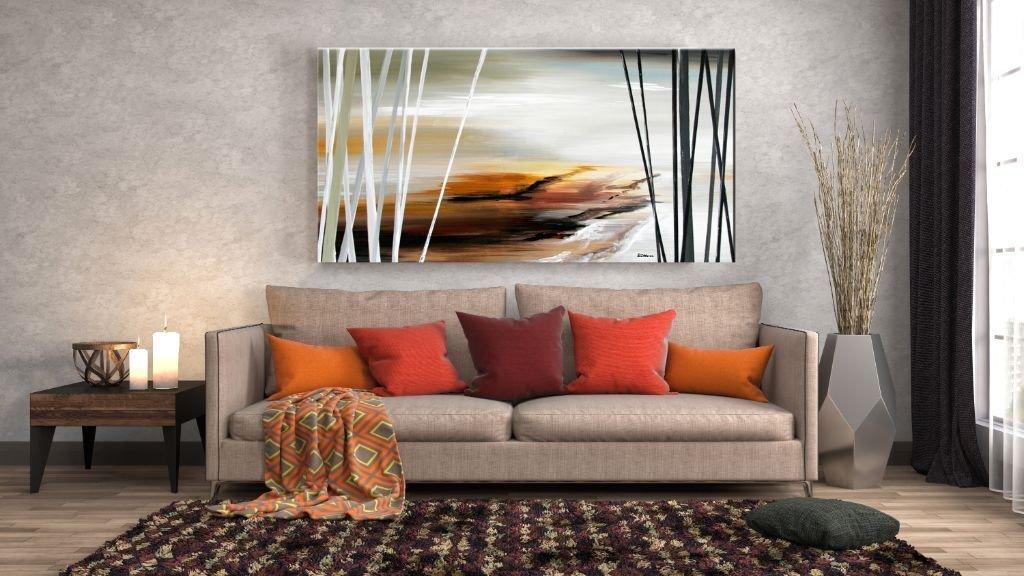 interieurfoto schilderij Stormy Ocean van Buttner