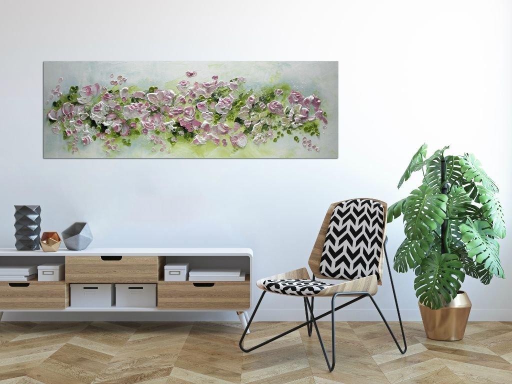 interieurfoto schilderij Summer Dream van Ines
