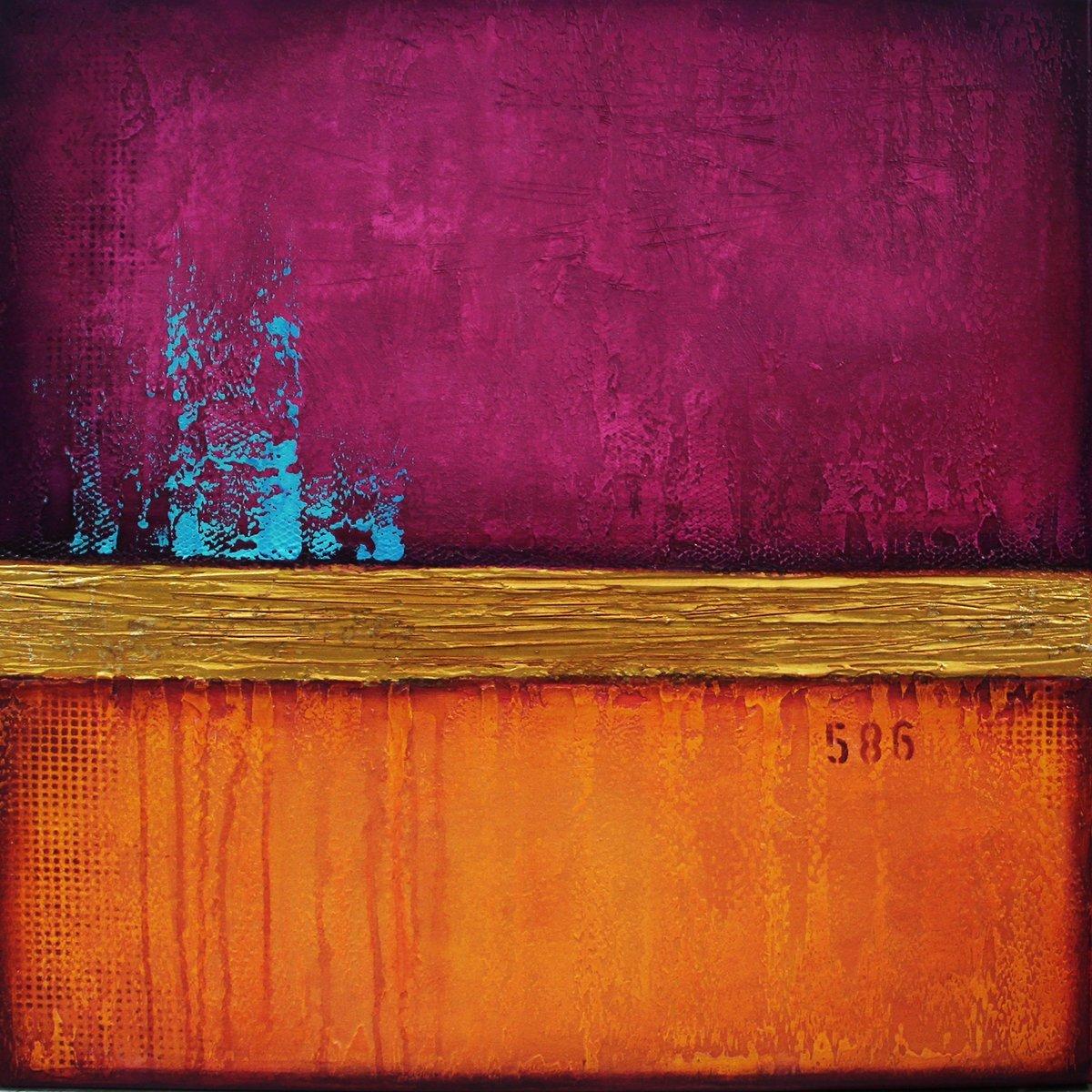 schilderij Think Pink van Ines