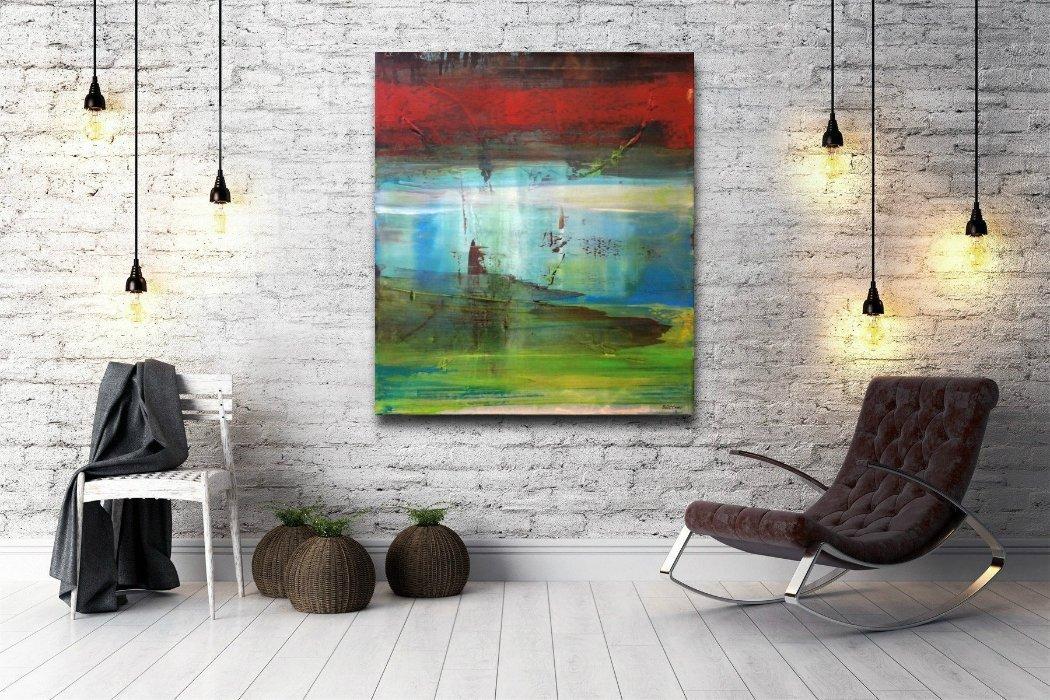 interieurfoto schilderij Twilight Bay van Buttner