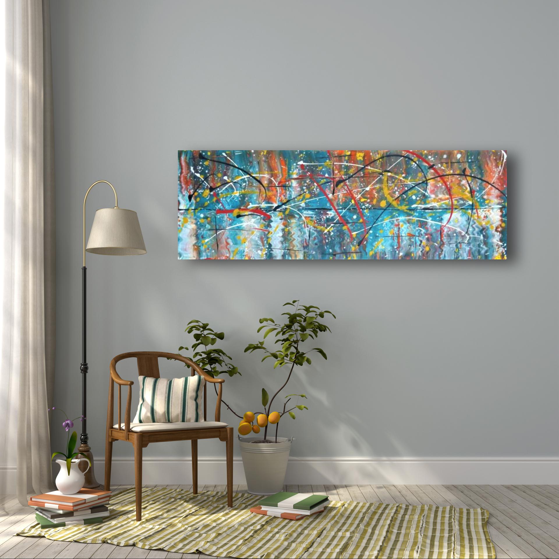 interieurfoto schilderij Reflected Light van James