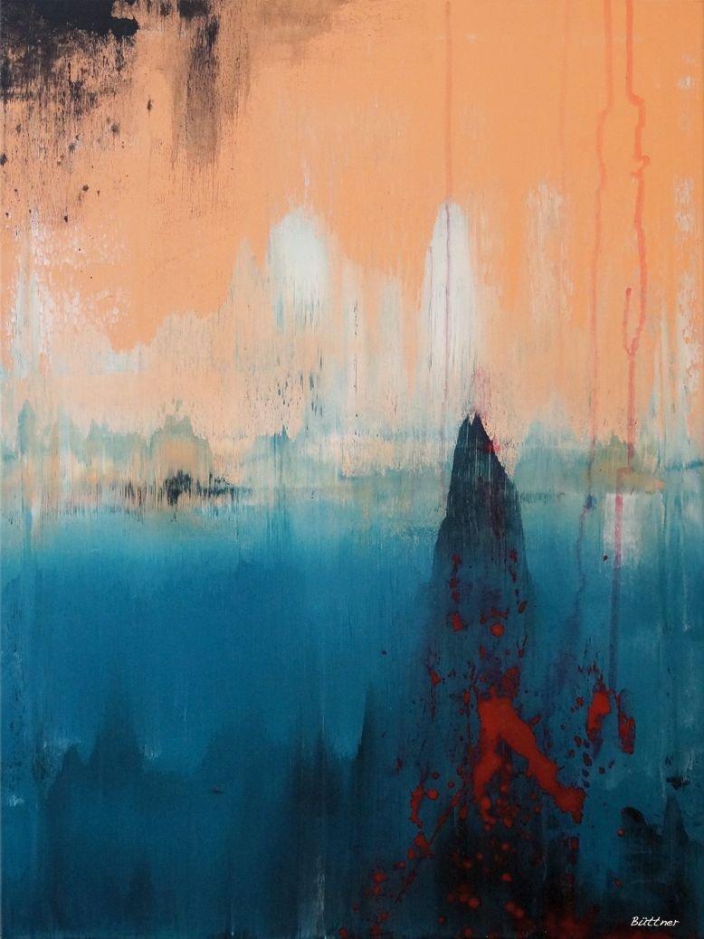 schilderij Morning Mist van Buttner