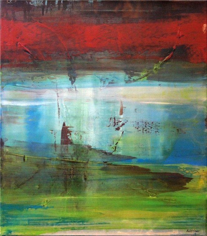 schilderij Twilight Bay van Buttner