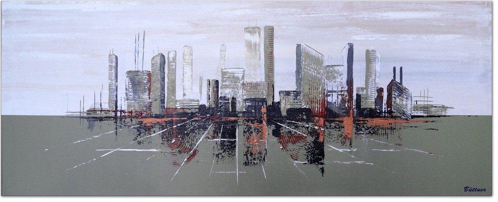 schilderij City Calls Me Home van Buttner
