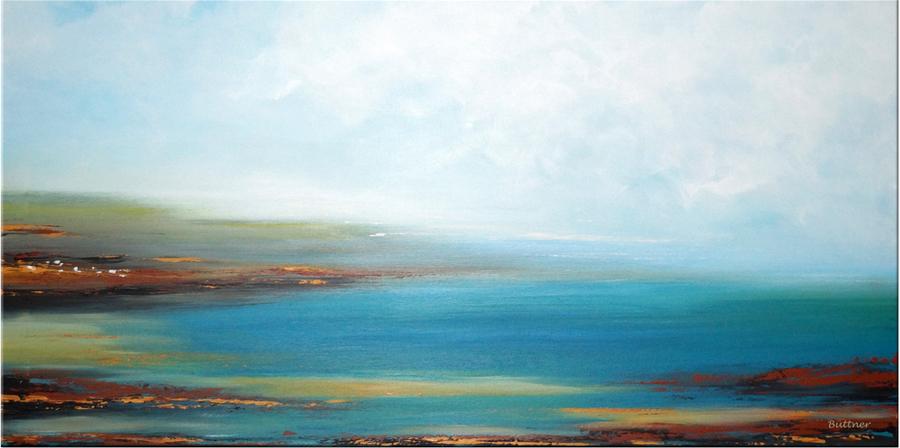 schilderij Lake Light van Buttner