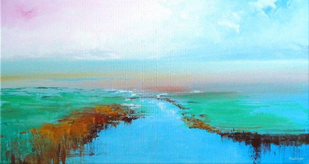 schilderij Nordic Sunlight van Buttner
