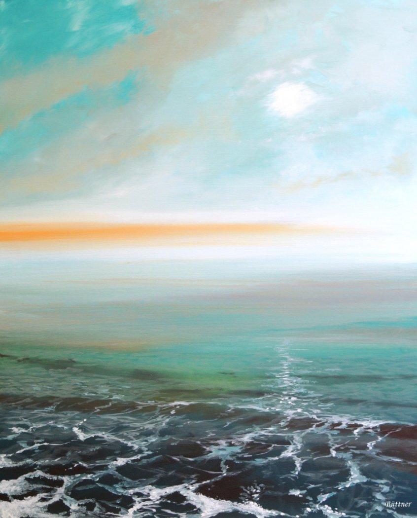 schilderij Riff Wave van Buttner