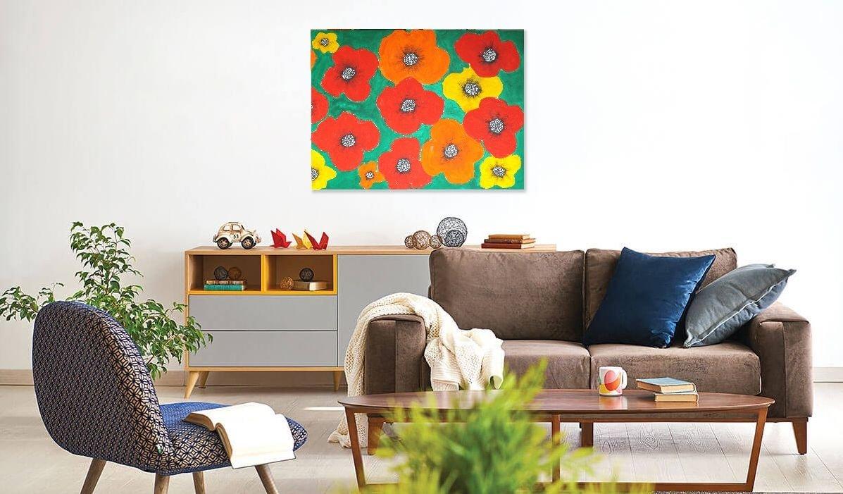 schilderij Big, Bold and Beautiful van James
