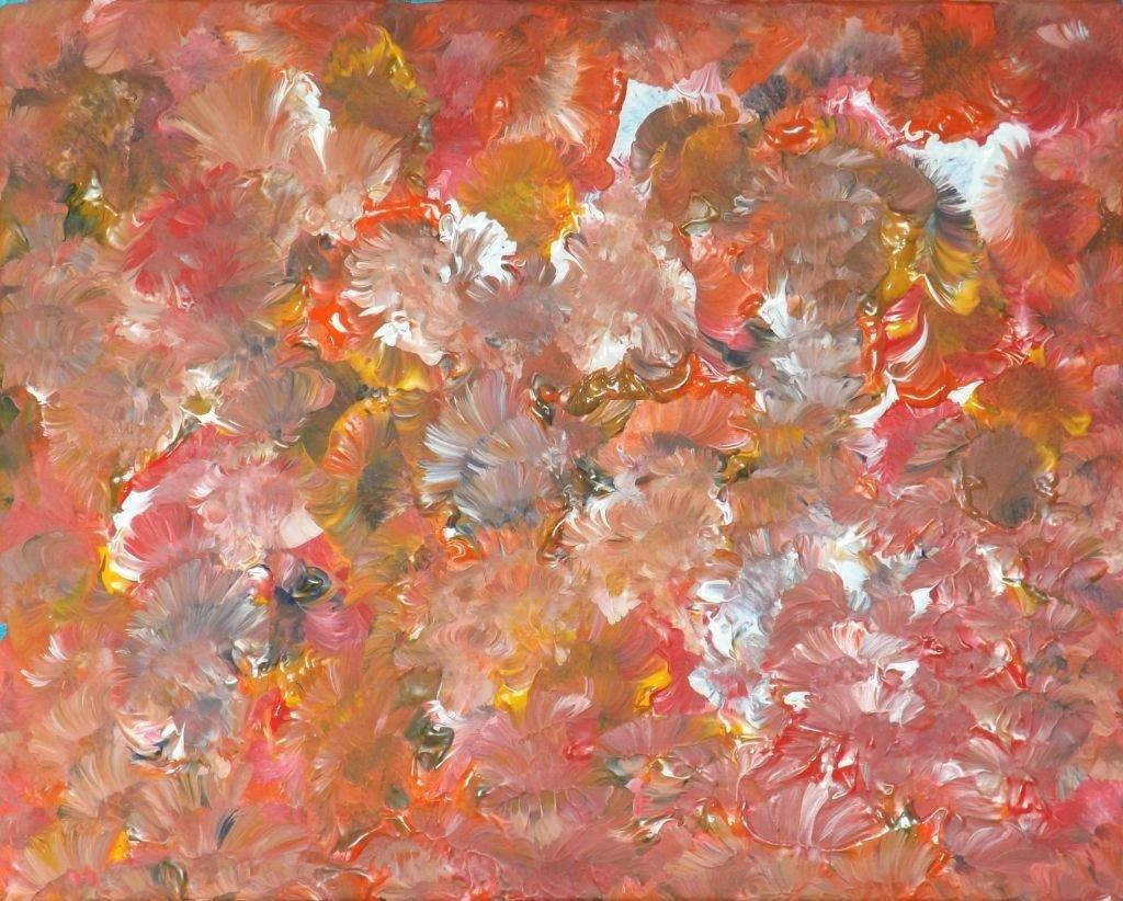 schilderij Count the Flowers van James