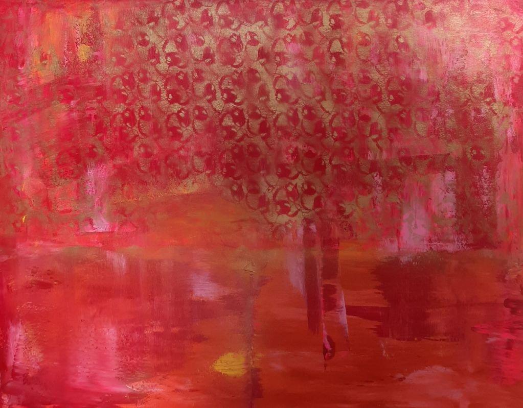 schilderij Golden Hour van Sacha