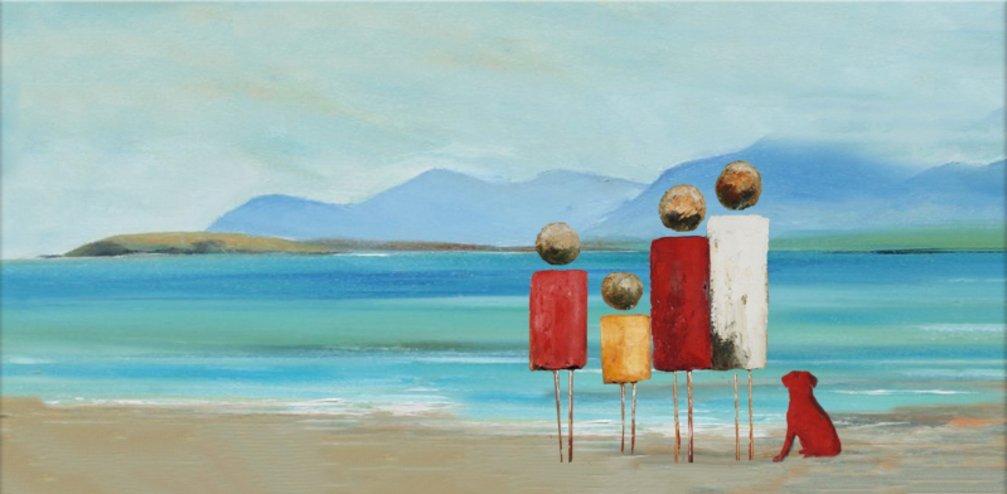schilderij High Tide van Irina