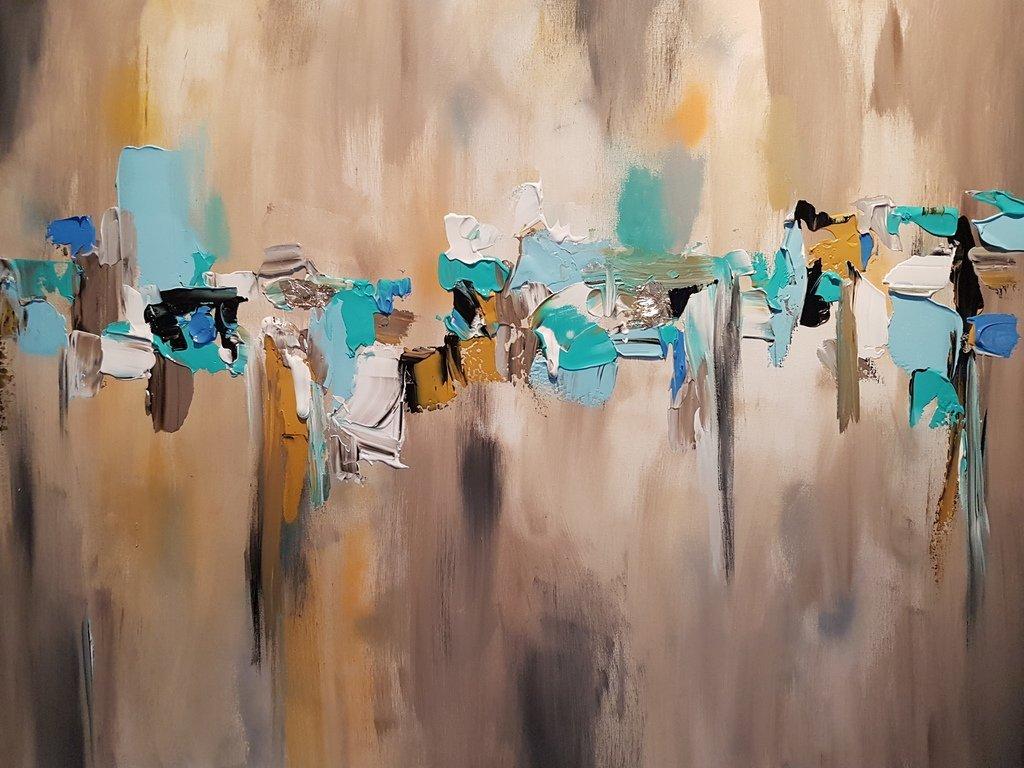 schilderij Horizon van Sacha
