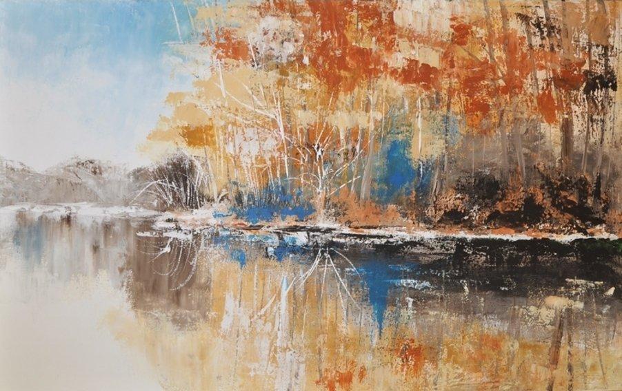 schilderij Reflections van Aleksandra